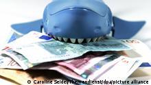 Symbolbild Kredithai