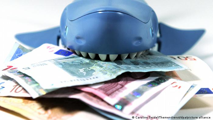 Σύμβολο καρχαρίας χρέη