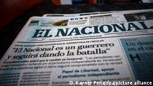 Anti-government Venezuelan newspaper El Nacional