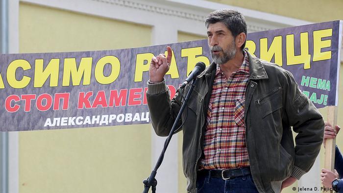 Aleksandar Panić govorio je na skupu