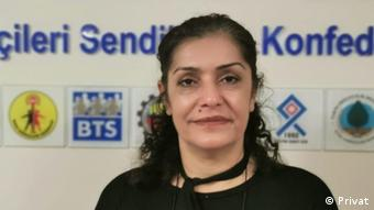 Sağlık ve Sosyal Hizmet Emekçileri (SES) Eş Genel Başkanı Selma Atabey
