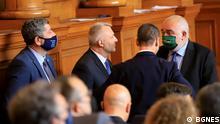 Bulgarien Sofia Abgeordnete im Parlament
