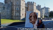 England Beisetzung Prinz Philip in Windsor