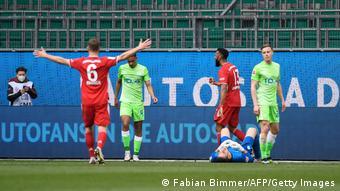 Eric Maxim Choupo-Moting a marqué contre Wolfsburg