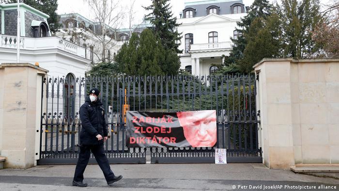 Tschechische Republik Russische Botschaft in Prag