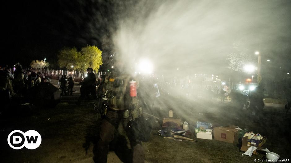 Stati Uniti: giornalisti accusati dalla polizia alla manifestazione, secondo le accuse |  DW |  04.17.2021 thumbnail