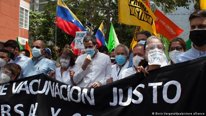 Venezuela Coronavirus | Proteste | Juan Guaido