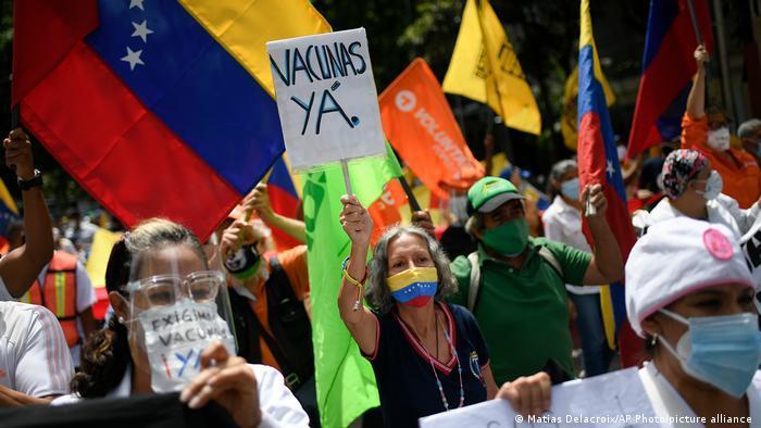 Venezuela Coronavirus   Proteste