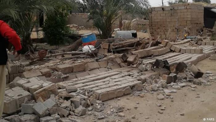 تصویری از زمینلرزه روز یکشنبه ۲۹ فروردین ۱۴۰۰ در استان بوشهر