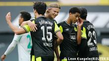 Fussball Bundesliga - Borussia Dortmund vs. Werder Bremen