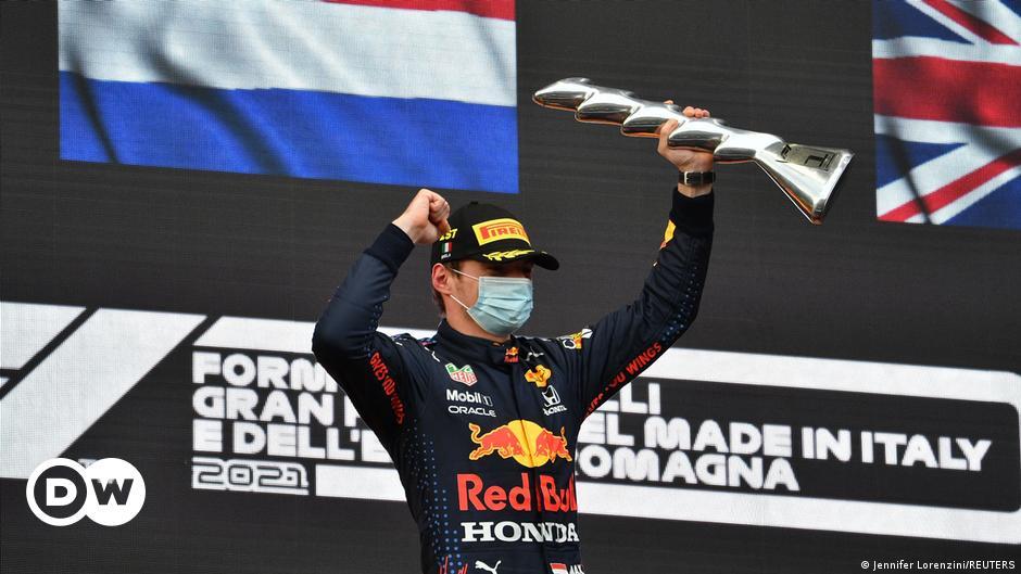 Max Verstappen gewinnt Chaos-Rennen von Imola