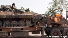 Tschad | Armeesoldaten in N'Djamena