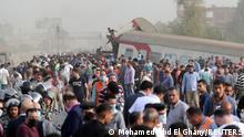 Ägypten | Zugunglück nahe Kairo