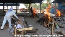 Indiens Krankenhäuser aufgrund der COVID-19-Pandemie