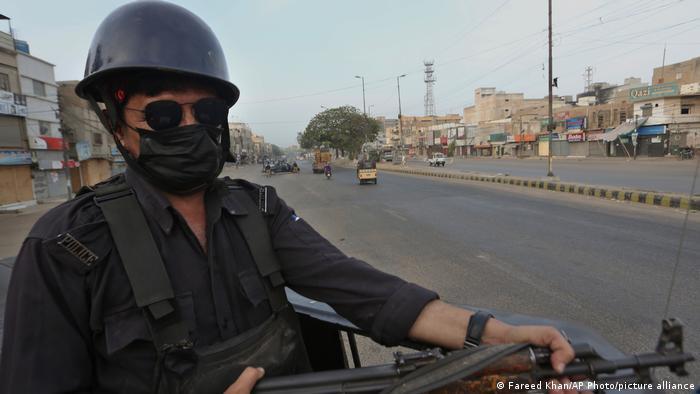Pakistan Landesweiter Streik Islamische Parteien