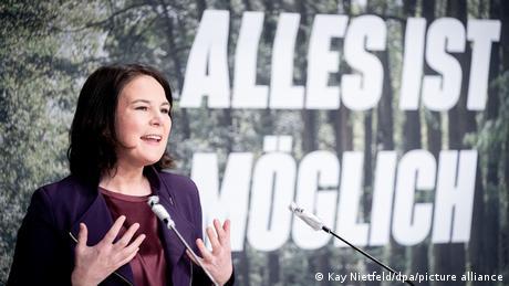 Weltspiegel Annalena Baerbock Landesdelegiertenkonferenz Bündnis 90/Die Grünen