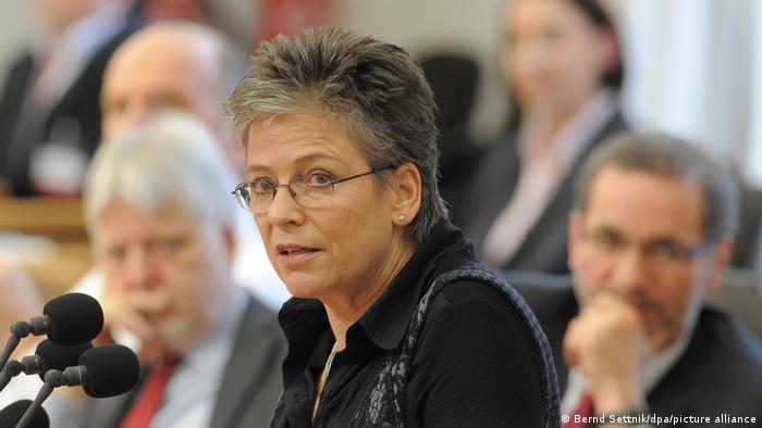 المعارضة الألمانية أولريكه بوبه (25/1/2012)