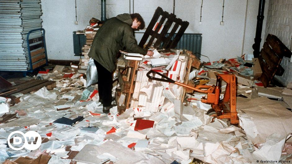 Germany disbands Stasi records agency but saves files