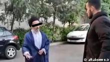 Iran Screenshot von einem gestellten Video