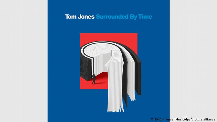 Cover of the the Tom Jones album 'Surrounded By Time'.