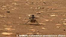 Mars Ingenuity Mars Helicopter Testflug