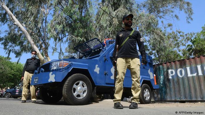 Pakistan Streik Frankreich TLP Französisches Konsulat Polizei