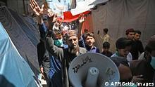 Pakistan Streik Frankreich TLP Protest