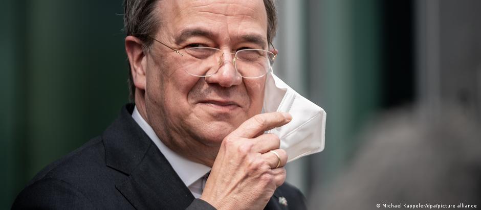 Deutschland PK Armin Laschet Kanzlerkandidaten Union