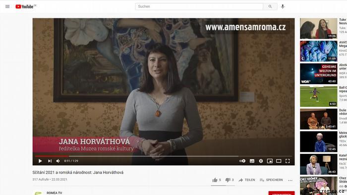 Tschechien Roma und Volkszaehlung