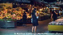 Spanien Corona-Pandemie | Barcelona Boqueria Markt