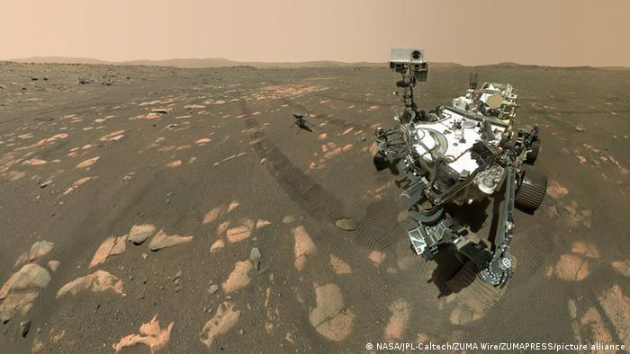 Mars Hubschrauber Ingenuity