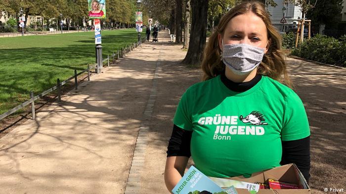 Mara Richarz von der Grünen Jugend Bonn