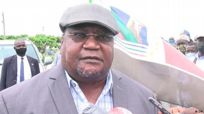 Ossufo Momade, líder da RENAMO