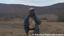 Mahamat Mahdi Ali, tschadischer Rebellenführer.