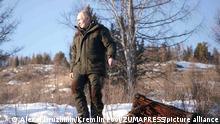 Russland Wladimir Putin und Natur