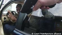 لحظه دستگیری جورج فلوید