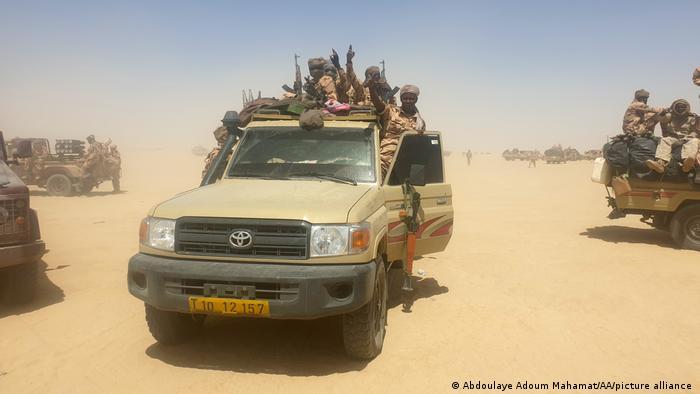Tschad I Militärische Operation gegen Rebellen in Ziguey