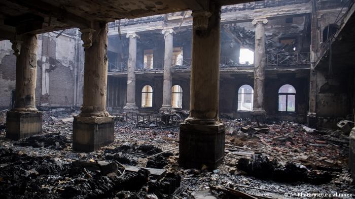 Südafrika Kapstadt | Waldbrand |Brand der Jagger-Bibliothek, Universität Kapstadt
