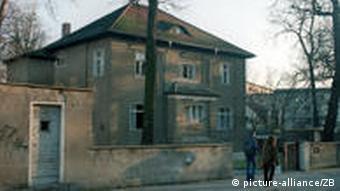 Бывший офис КГБ в Дрездене, где работал Владимир Путин