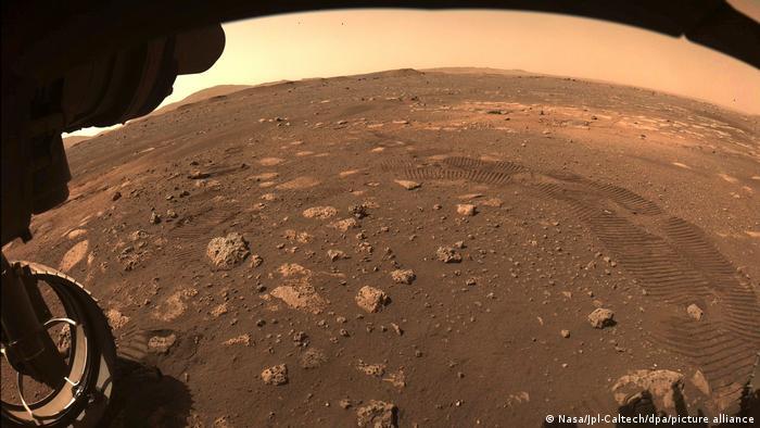 Visão da superfície de Marte