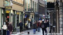 Schweden Stockholm | Coronavirus | Shopping