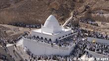 Jemen Pilger Grab des Propheten Hud