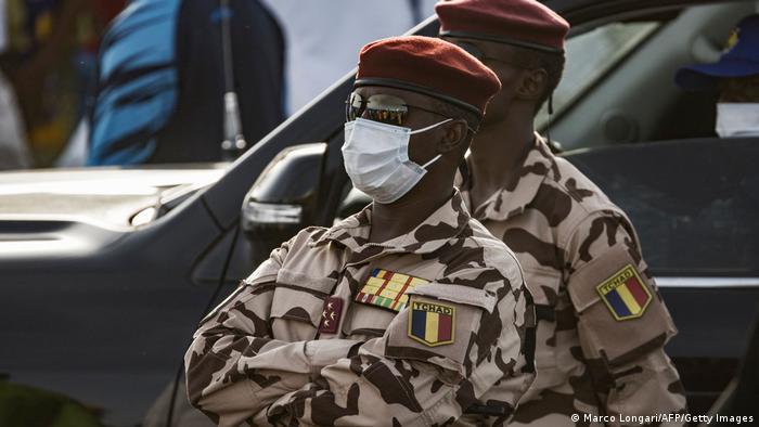 Le chef du Conseil national de la transition, Mahamat Idriss Déby, fils d'idriss Deby.