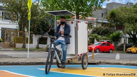 Kolumbien Bogotá Lastenrad-Programm BiciCarga