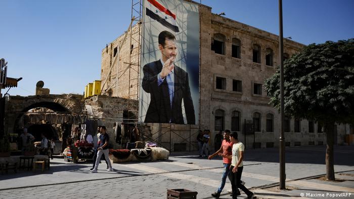 Syrien Wahl 2021 | Poster Bashar al-Assad
