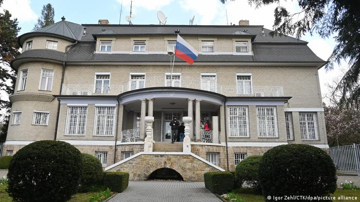 The Consulate General of the Russian Federation in Karlovy Vary, Czech Republic