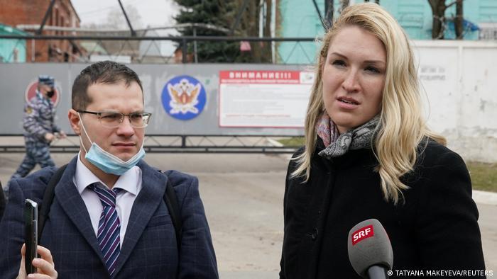 Jaroslav Ašihmin i Anastasija Vasiljeva, liječnici zatočenog oporbenog lidera Alekseja Navaljnog