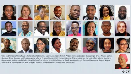 DW Redaktionscollage Kisuaheli