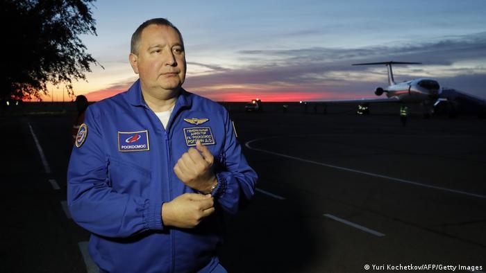 Der Chef der russischen Raumfahrtbehörde Roskosmos, Dmitri Rogosin