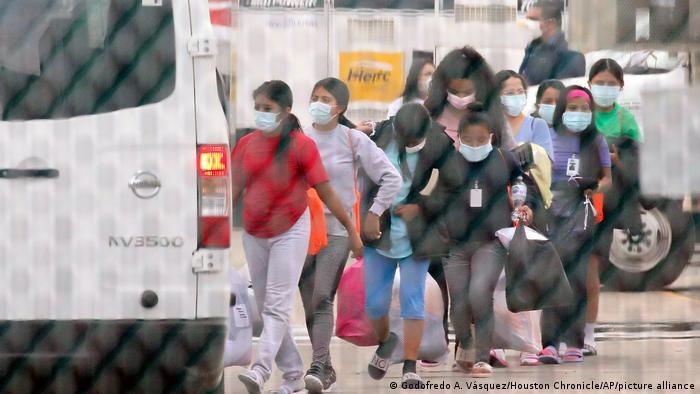 Беженцы на мексиканско-американской границе